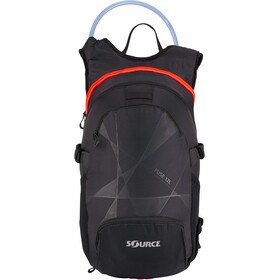 SOURCE Fuse Hydration Pack 3+9l, black/orange